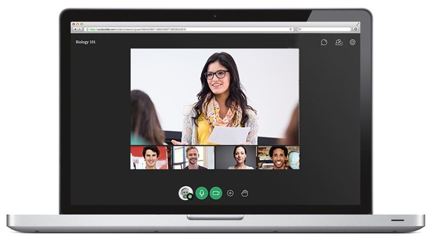 Collaborate, herramienta de Blackboard Coursesites para hacer clases por streaming