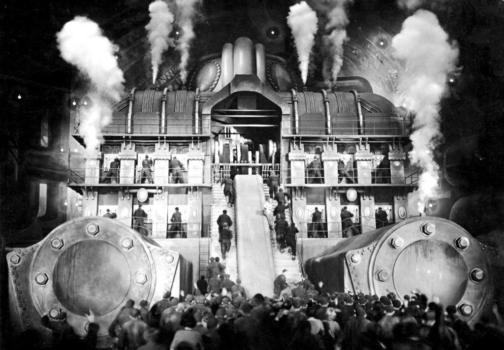 Fotograma de Metropolis, película de Fritz Lang